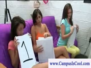 Cfnm college girls sucking cock for contest