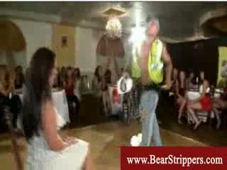 Cfnm stripper civil servant worker