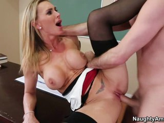 Rampant Tanya Tate is dicked up her dripping nob nest