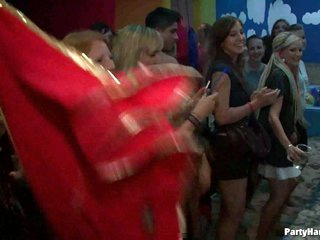 Horny chicks love male stripper