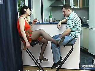 Romantic date with insatiable older chick bound to have doggystyle finale