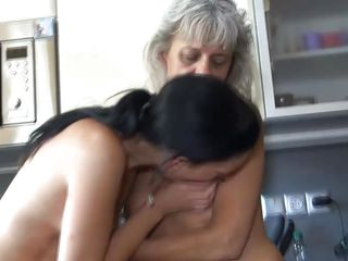 True story: my grandma taught me how it is to be a lesbian. It started one day in her kitchen, wherein she opened my eyes to the wonderful world of making out with a woman. She showed me how to lick a pussy properly, how to play with breasts and how to basically turn on a lady using my own body!