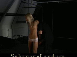 Skinny golden-haired misbehaved her Slavemaster and now s&m discipline must be applied. Bent over in doggie her gazoo is suffering the almost any farther down the wintry slapping. This Babe is imobilizated for an everlasting submission.