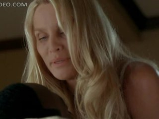 Unbelievably Gorgeous Nicolette Sheridan Dancing In Super Hot Lingerie
