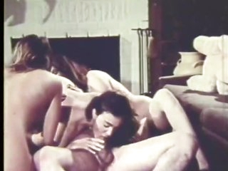 Hot Retro Group Sex Orgy