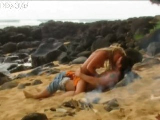 Ruston Head and Tonya Cooley Fucking On a Beach - Softcore Sex Scene