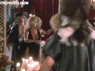 Hot Ebony Marsha A. Hunt Seduced By Sexy Blonde Sybil Danning