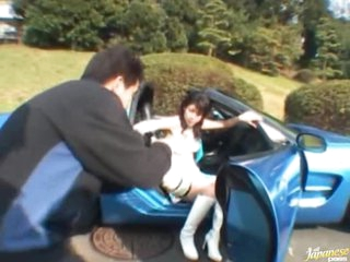 Naughty Asian Teen Runa Tsukioka Gets a Hardcore Fuck and a Facial