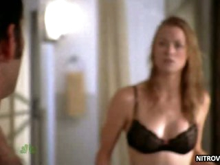 Hot Shower Scene Featuring Gorgeous Blonde Babe Yvonne Strahovski