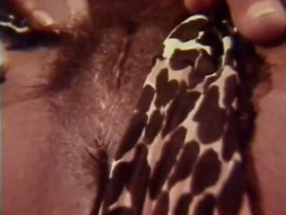 Horny Black Babes in Vintage Lesbian Sex