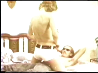 Brunette Babe With Hairy Pussy Gets Fucked by Retro Porn Legend John Homes