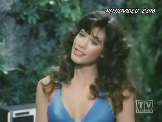 Gorgeous Barbi Benton In a Sexy Blue bikini