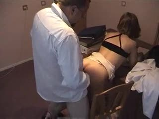 Amateur old guy fucking this young pussy