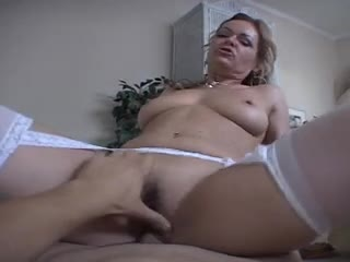 Deepthroat blowjob milf fucked in POV video