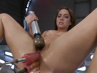 Alluring Remy La Croix gets her ass & pussy toy fucked