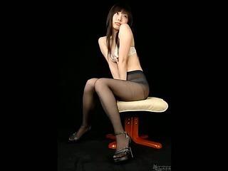 Slideshow of Asian girls in pantyhose
