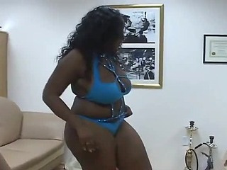Devilish big tits ebony phat cocksucking divas sharing huge cock