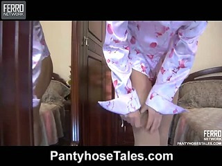 Whitney&Marcus hot pantyhose video