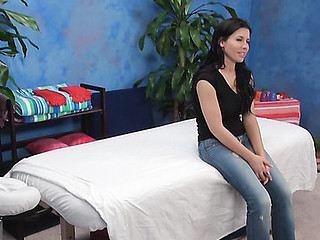 Dark Brown playgirl next door from this action looks stunning in garments and u should watch her out of anything on body to fall in love immediately! Watch how gracious dude has fun with her on camera.