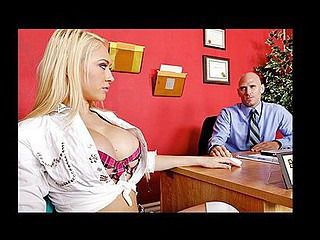 Kagney is the baddest hotty in the school and will do whatsoever this babe wants to get ahead. This time this babe gets caught cheating on her exam and the teacher sends her to the Dean's office to set her straight. In the Dean's office this babe chews bubble gum and talks a lot of shit, which Johnny doesn't take very lightly.  This Guy smacks her butt over and over with a ruler until that babe starts to cry and then this guy proceeds to fuck her all over the Dean's office. Punishment is absolute! Nasty!