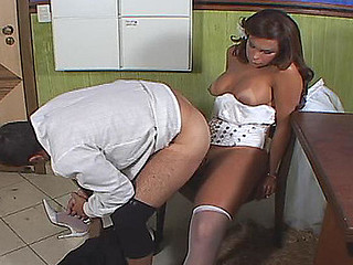 Slutty shemale bride taking the majority from her dual nature after the wedding