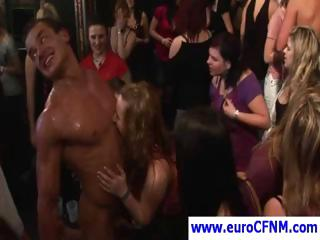 European CFNM orgy with these chicks getting pounded hard