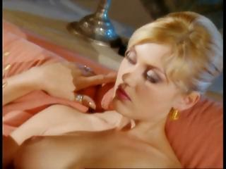 Blonde Sandra Iron and friends have a hot fuck party before cards